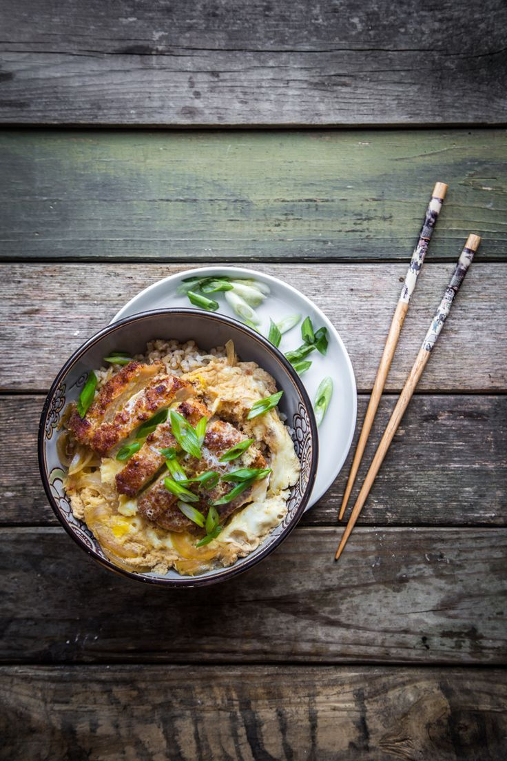 Katsudon is made of tonkatsu cooked with eggs simmering in sweet and savory broth and served over rice. A perfect delicious rice bowl