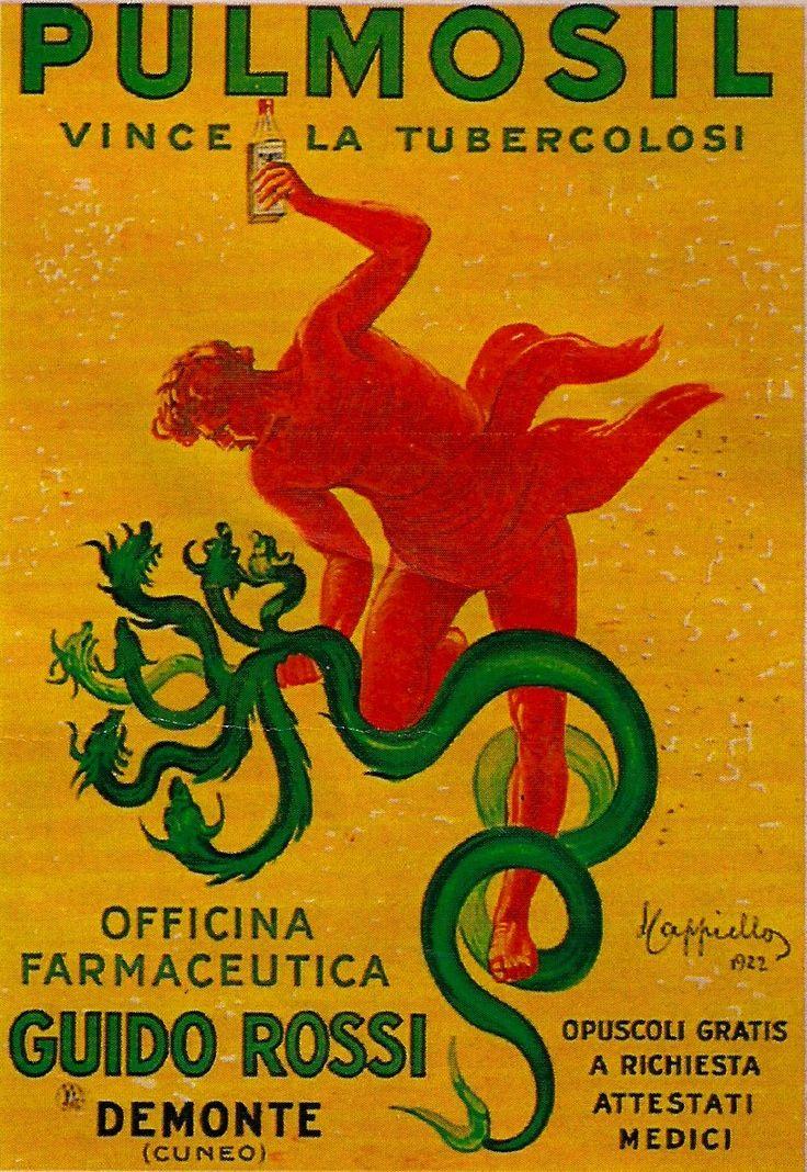 Vintage Italian Posters ~ #Italian #vintage #posters ~ Leonetto Cappiello