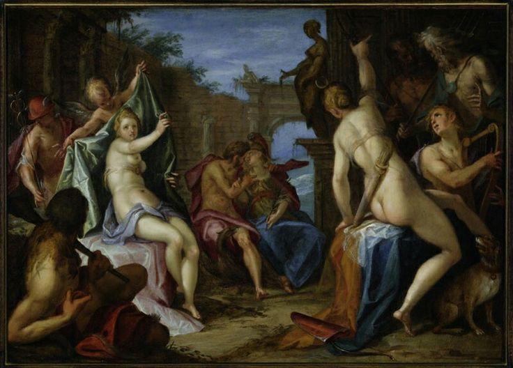 Concilio degli dei. Praga. Narodni Galerie