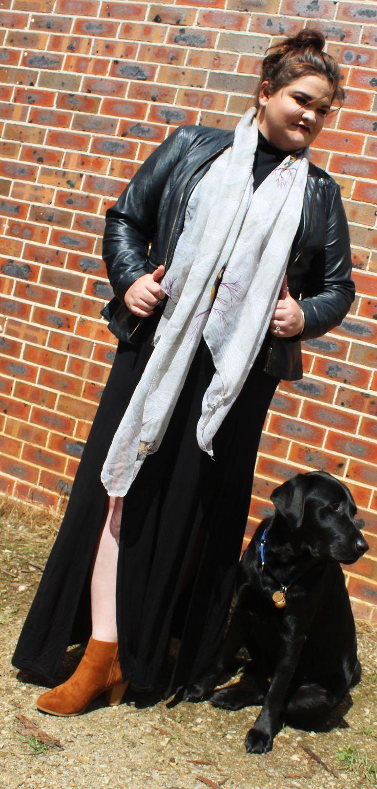 Autumn Maxi Skirt Outfit   Ailsa Jane - Australian Plus Size Fashion Blog Plus size fashion.