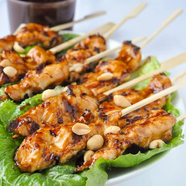 17 Best ideas about Chicken Satay Skewers on Pinterest ...