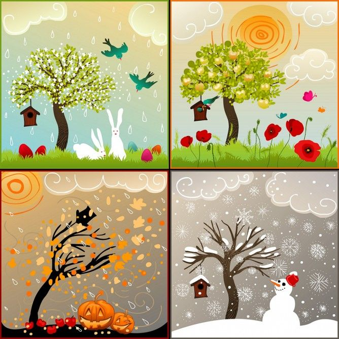 pory roku obrazek - Szukaj w Google