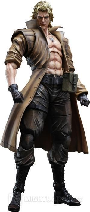 Metal Gear Solid 2 Play Arts Kai Liquid Snake Action Figure