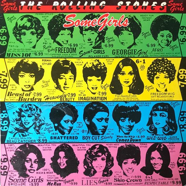 Label Rolling Stones Records 10 C 066 61016 Format Vinyl Lp Album Country Spain Genre Rock Style Hard Roc Rolling Stones Some Girls Girls Music