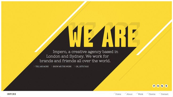 Impero - smooth and elegant page transition