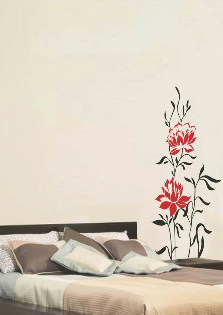 157 best Floral Wall Decals images on Pinterest