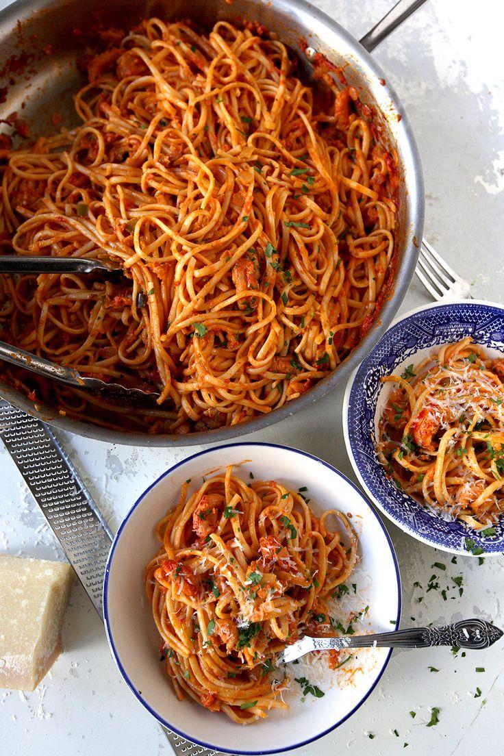 Crawfish Pasta
