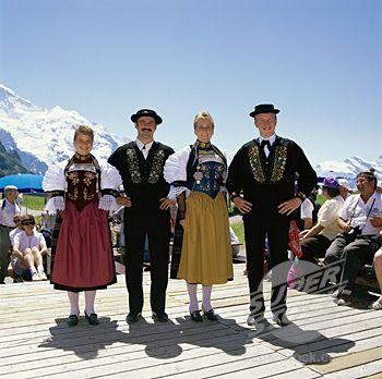 Switzerland People | Switzerland - Traditional Native Dress | Flickr - Photo Sharing!