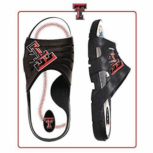 Texas Tech Baseball Slides Real Baseball leather & most comfortable I've ever worn!