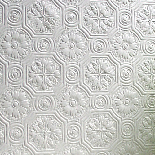 Anaglypta Supaglypta Spencer Wallpaper Use On The Ceiling
