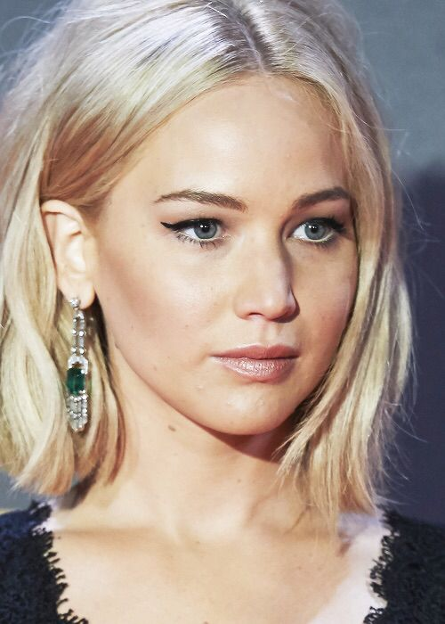 Jennifer Lawrence at the Mockingjay Part 2 premiere in Madrid