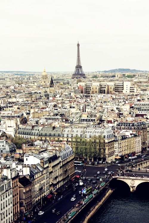 The city of love (or in my case the city of endless crepes!)
