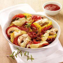 Ofen-Kartoffel-Raclette