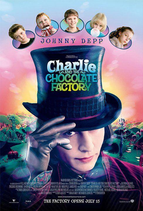 Charlie y la fábrica de chocolates [2005]