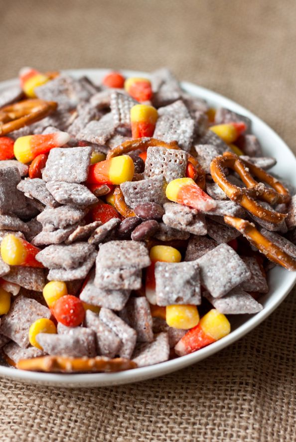 Fall-Friendly Snack Mix