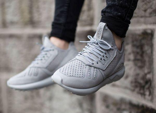 adidas Men's Originals Tubular Radial Mono Casual Sneakers from