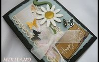 Felicitare scrapbooking III - Mikiland   Crafty