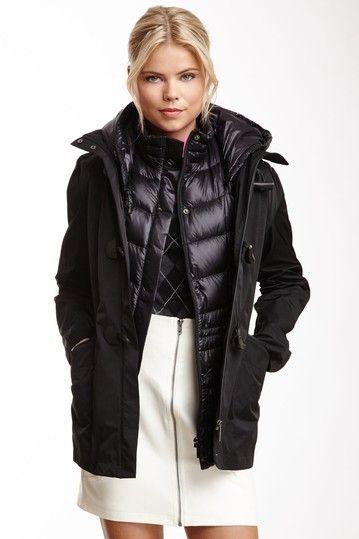 Three layered jacket