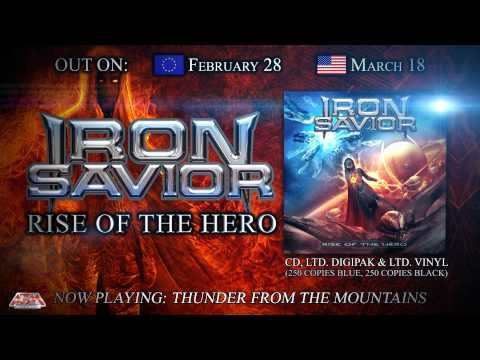 IRON SAVIOR - Rise Of The Hero (2014) // Album Trailer // AFM Records - YouTube