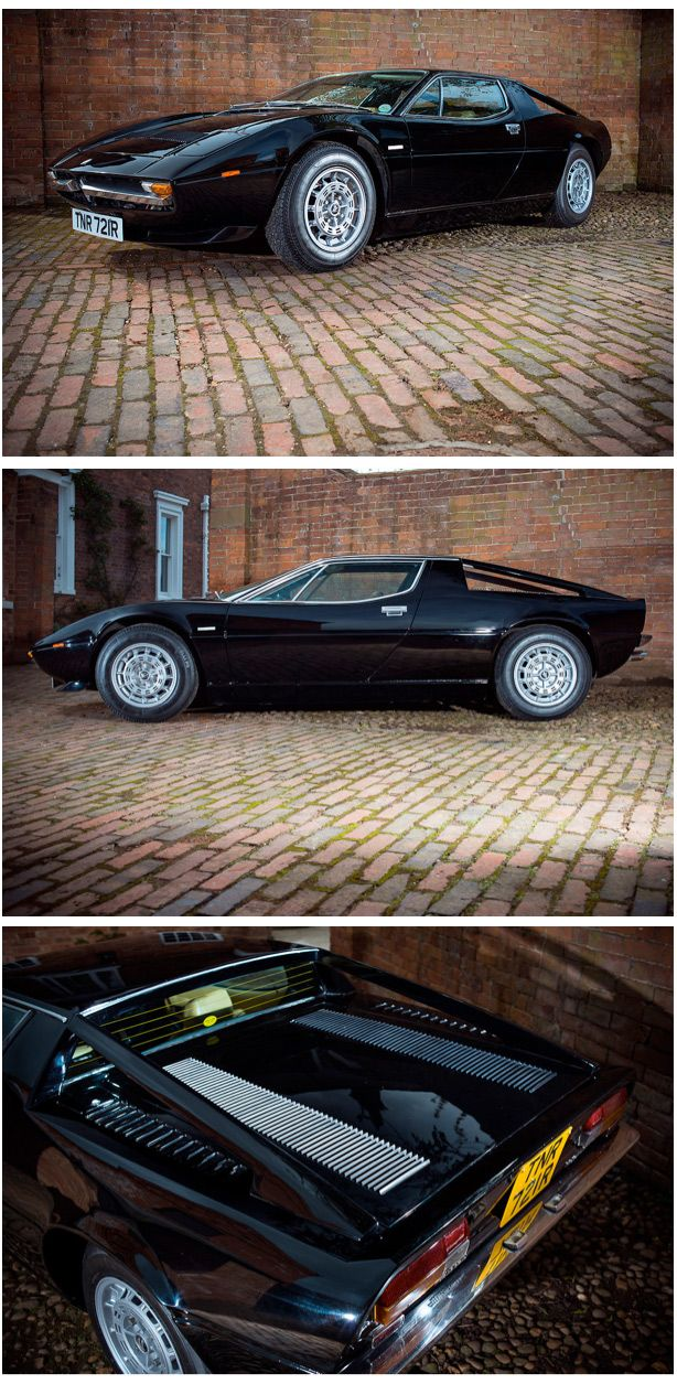 1977 Maserati Merak SS :: Silverstone Auctions  Handsome looking Maserati from Silverstone Auctions.