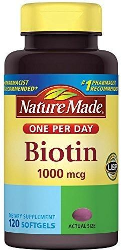 Nature Made Biotin 1000 mcg Softgels 120 Count