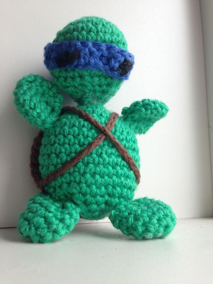 Hæklet Ninja Turtles - Crochet Ninja Turtles