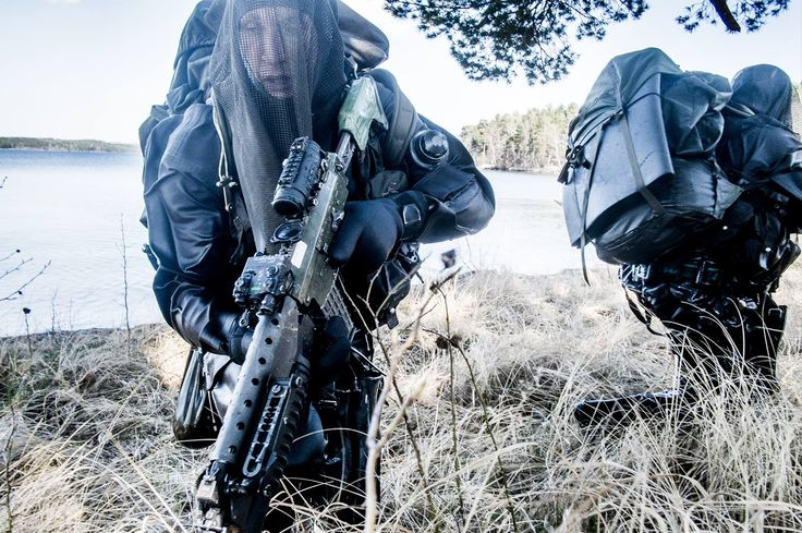 #SpecialMilitaryUnits ...... Fallskärmsjägarna, also known as Fallskärmsjägarkåren - Parachute Ranger Corps - is a Swedish military special operations unit. The unit has special training in Arctic warfare and can sustain operations for extended periods, in excess of one month, deep inside enemy territory without resupply or support from other parts of the armed forces. Main mode of deployment is by parachute but the unit can also be deployed via helicopter and boats.....