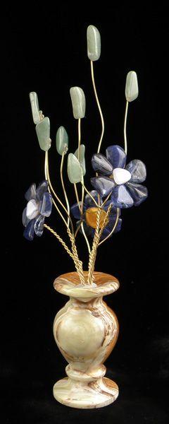 Цветы из камня - Синий