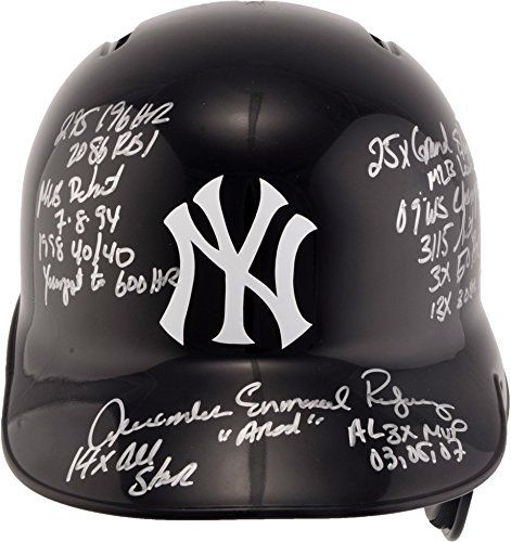 Alex Rodriguez New York Yankees Autographed Replica Batting Helmet with Career Stats Inscriptions - Limited Edition of 13 -- Find out more about the great product at the image link.
