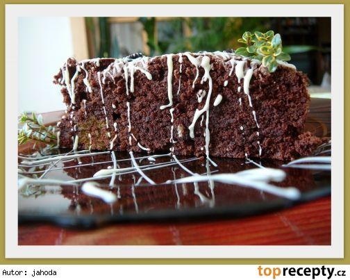 Čoko-dortík se sušenými švestkami
