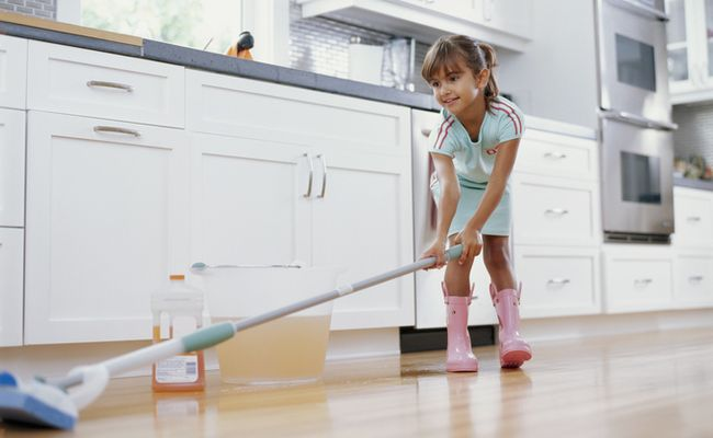 Natural Floor Cleaning: Easy Greening
