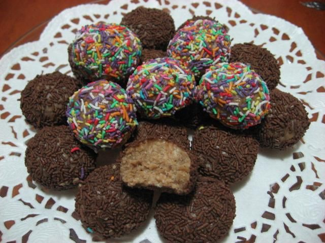 Yummy Milo balls for kids and adults.