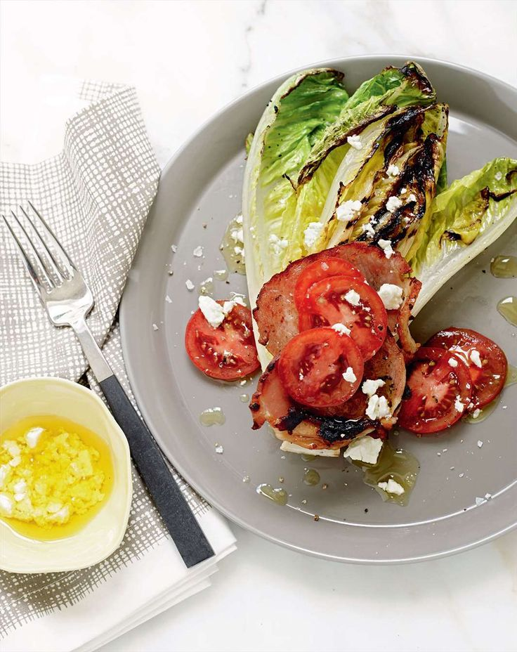 Grilled BLT salad by Jane Kennedy from One Dish, Two Ways | Cooked