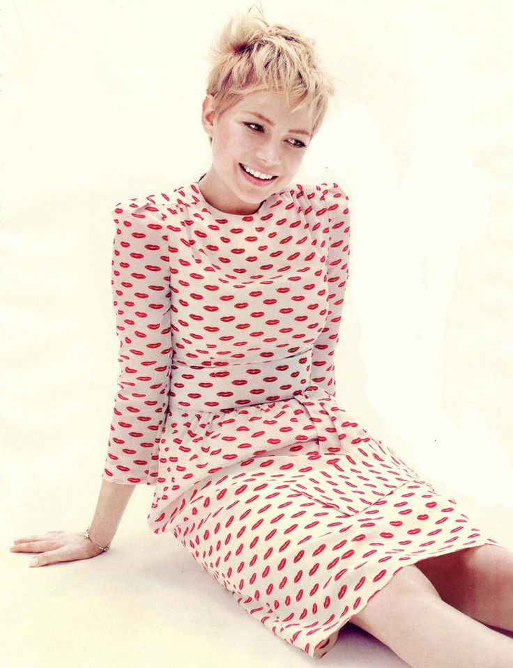 Wat een mooi kleedje Michelle Williams, Prada Resort 2012