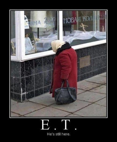 E.T. - He's still here
