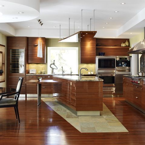 Asian Track Lighting Kitchen Design Ideas, Pictures, Remodel and Decor