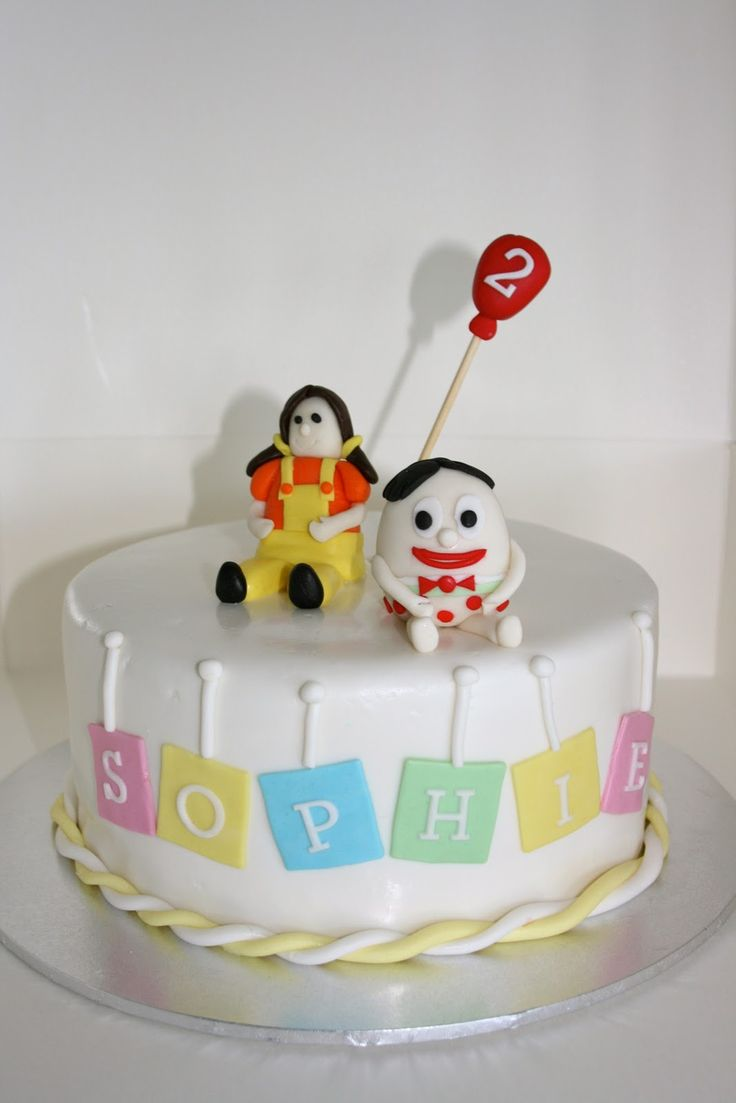 Baked By Design: Play School Cake