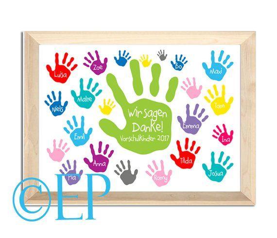 Wir Sagen Danke Poster 21x305 Cm Kindergarden Ideas