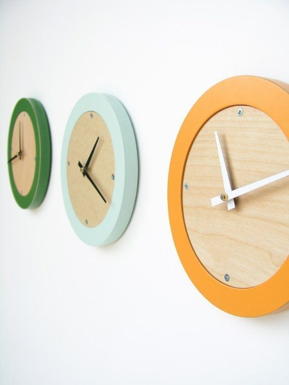 wall clock – uncommonModern Interiors Design, House Design, Living Room Design, Design Interiors, Home Interiors Design, Modern Wall, Wall Clocks, Design Home, Design Offices