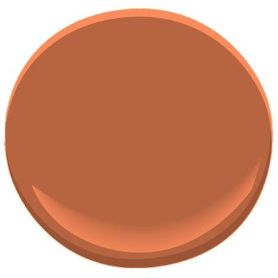 Rust 2175-30. This richly saturated shade of classic rust gives a pop of refined color to a dining room or study.   (This color is part of our Candice Olson Designer Picks collection.)