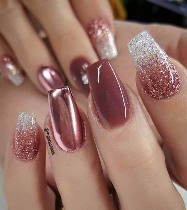 39 Trendy Fall Nails Art Designs Ideas To Look Autumnal & Charming – autumn nail…