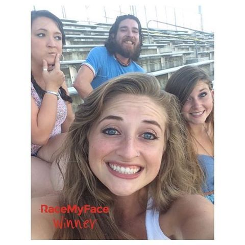 Groupfie winner is above - do you think they seem like a group which needs a pizza? :) We hope they will have more fun during the pizza night they will have with our gift, the Domino's  Pizza gift card!  www.appstore.com/RaceMyFace  #RaceMyFace #RaceMyFaceWinner #selfiecontest #winwithyourselfie #selfie #selfies #prizes #selfietime #selfienation #contest #group #groupselfie #groupfie #smile