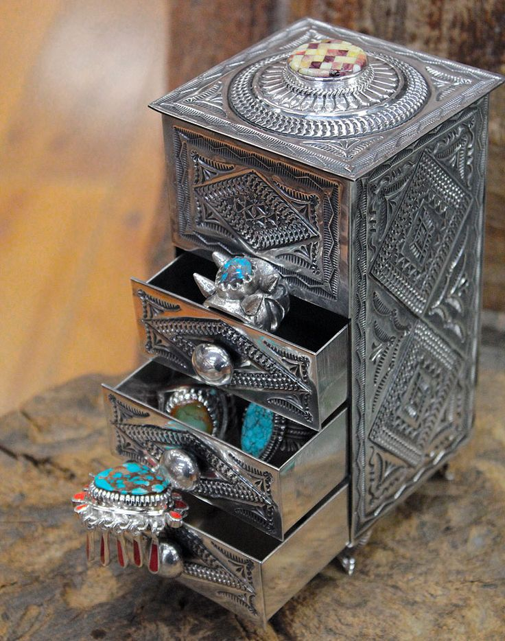 ༻⚜༺ ❤️ ༻⚜༺ Sunshine Reeves | Sterling Silver Jewelry Holder ༻⚜༺ ❤️ ༻⚜༺