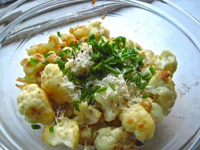 Simple Cauliflower - The Corner Kitchen