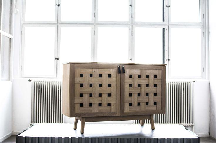 Rivö Cabinet. Designed in 2016, by Jonas Olsson, for Möbelverket.