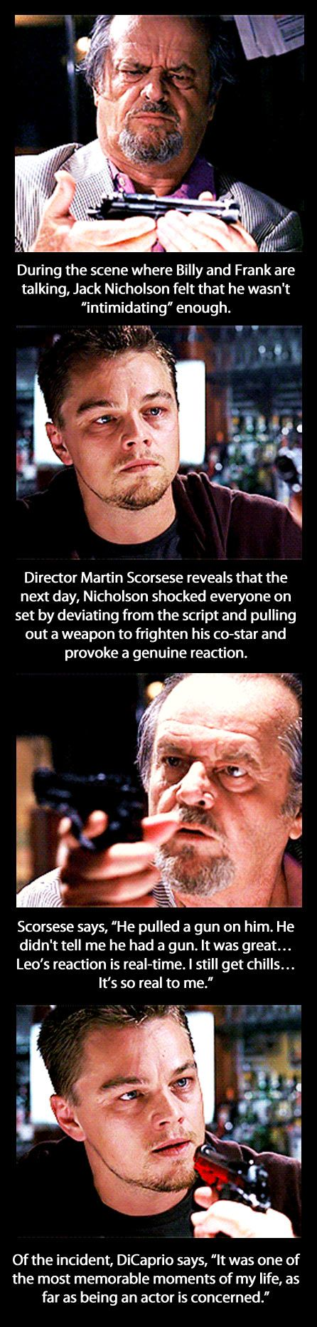 Jack Nicholson's acting method…