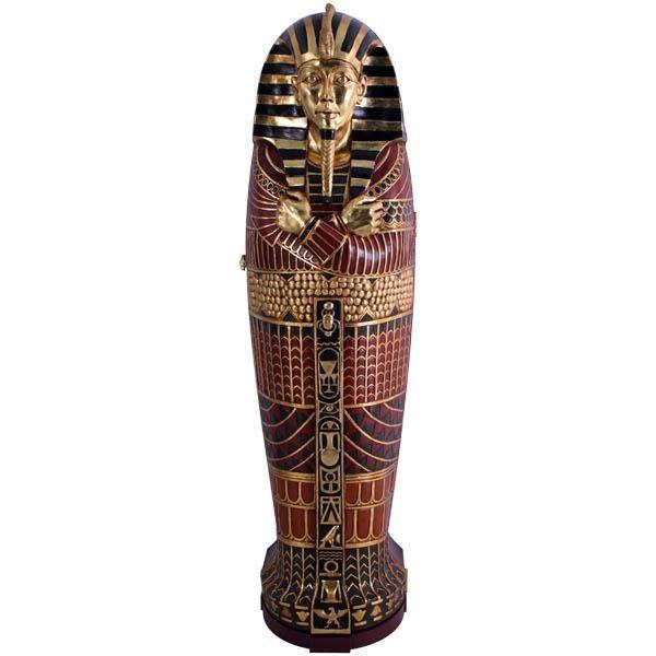 Egyptian King & Queen replica sarcophagus