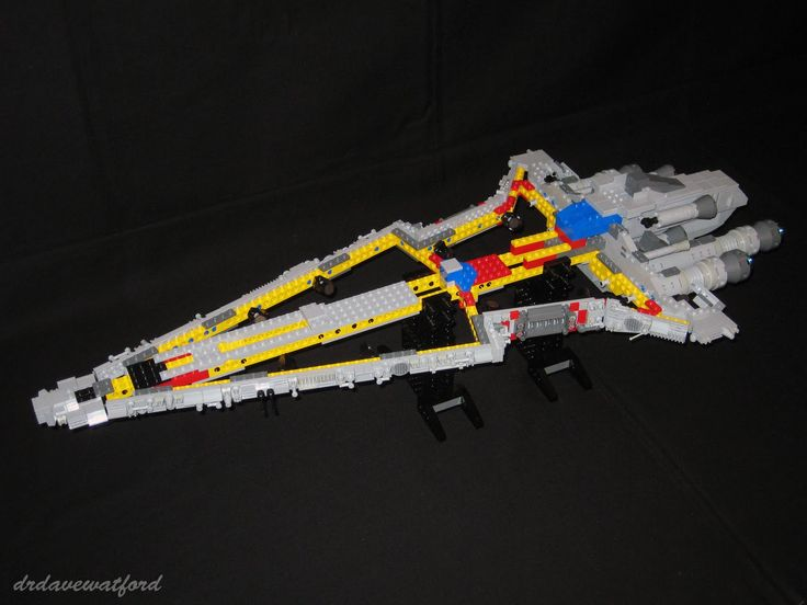how to build lego star wars venator class micro