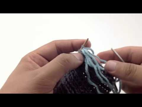 This video knitting tutorial will help you learn how to knit the tubular bind off. This sewn bind off creates an invisible edge on 1×1 ribbing that perfectly matches the tubular cast on. This is a great technique to use when finishing brims on hats and cuffs on sleeves or socks. It is very stretchy.