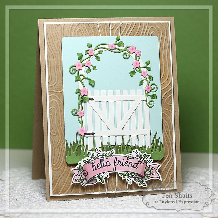 "<input class=""jpibfi"" type=""hidden"" ><p>Hi everyone! Welcome to day two for Taylored Expressions March Sneak Peeks! I have two more projects for you today!! My first project features a whole load of new dies and a new sweet little stamp set. First up are the Garden Arbor and Gate dies. They are the focal …</p>"